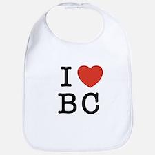 I Heart BC Bib