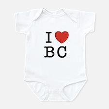 I Heart BC Infant Bodysuit