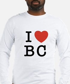 I Heart BC Long Sleeve T-Shirt