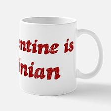 Sardinian Valentine Small Small Mug