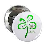 CELTIC CLOVER Button