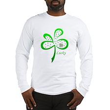 CELTIC CLOVER Long Sleeve T-Shirt