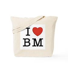 I Heart BM Tote Bag