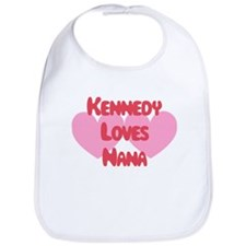 Kennedy Loves Nana Bib