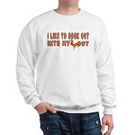I like to rock out Sweatshirt