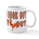 I like to rock out Mug