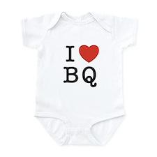 I Heart BQ Infant Bodysuit