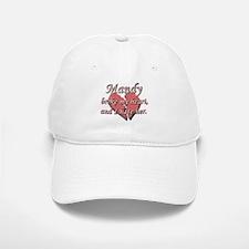 Mandy broke my heart and I hate her Baseball Baseball Cap