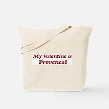Provencal Valentine Tote Bag