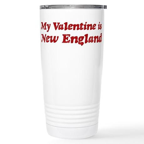 New England Valentine Stainless Steel Travel Mug