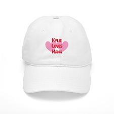 Kylie Loves Nana Baseball Cap