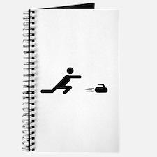 black curling logo curl symb Journal