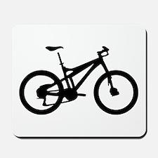 black mountain bike bicycle Mousepad