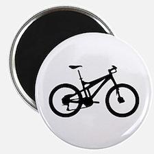 black mountain bike bicycle Magnet