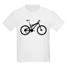 black mountain bike bicycle T-Shirt