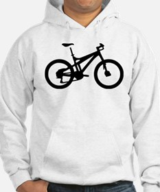 black mountain bike bicycle Hoodie