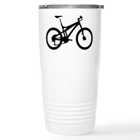 black mountain bike bicycle Stainless Steel Travel