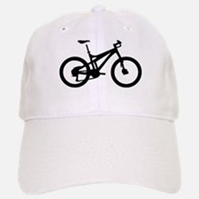 black mountain bike bicycle Baseball Baseball Cap