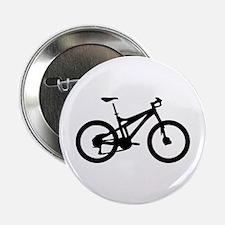 "black mountain bike bicycle 2.25"" Button"