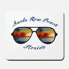 Florida - Santa Rosa Beach Mousepad