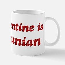 Mancunian Valentine Small Small Mug