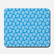 Blue Thumbprints Mousepad
