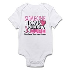 Needs A Cure BREAST CANCER Infant Bodysuit