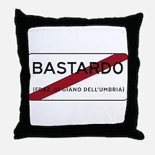 Bastardo, Italy Throw Pillow