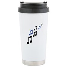 music notes symbols Travel Mug