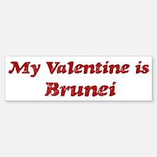 Brunei Valentine Bumper Bumper Bumper Sticker