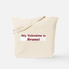Brunei Valentine Tote Bag