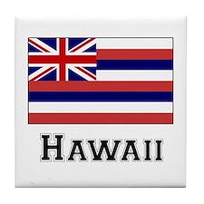 Hawaii State Flag Tile Coaster