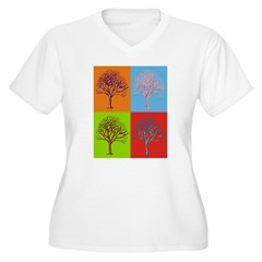 Warhol Print Tree T-Shirt