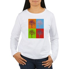 Warhol Print Tree T-Shirt
