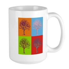 Warhol Print Tree Mug