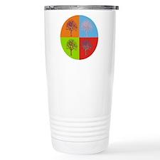 Warhol Print Tree Travel Mug