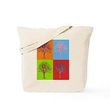 Warhol Print Tree Tote Bag