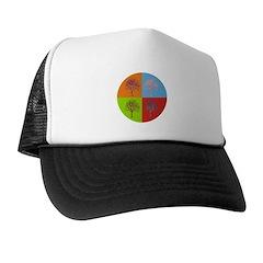 Warhol Print Tree Trucker Hat