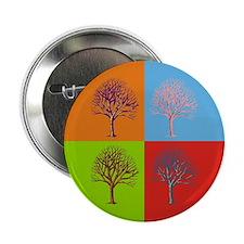 """Warhol Print Tree 2.25"""" Button"""