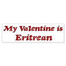 Eritrean Valentine Bumper Car Sticker