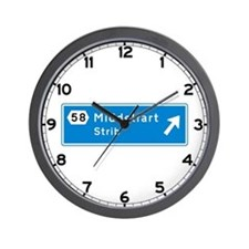 Middelfart, Denmark Wall Clock