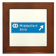 Middelfart, Denmark Framed Tile