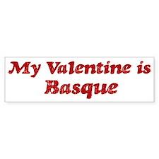 Basque Valentine Bumper Bumper Sticker