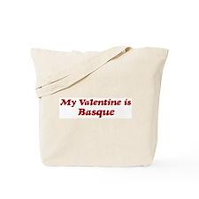 Basque Valentine Tote Bag