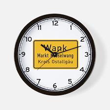 Wank, Germany Wall Clock