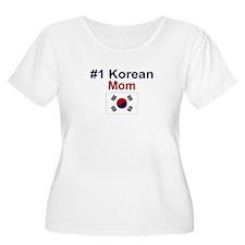 #1 Korean Mom T-Shirt