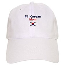 #1 Korean Mom Baseball Cap