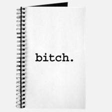 bitch. Journal