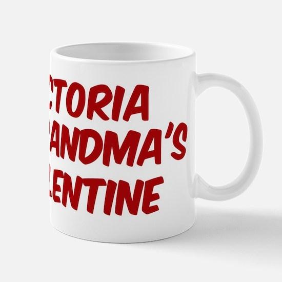 Victorias is grandmas valenti Mug