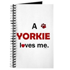 A Yorkie Loves Me Journal